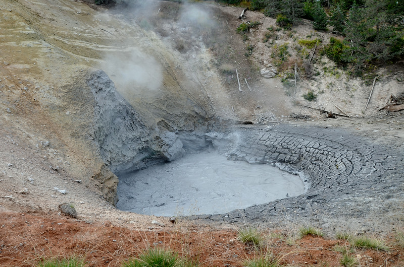 Mud Pot, Yellowstone National Park