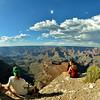 Peter, Chris and Flora, Grand Canyon