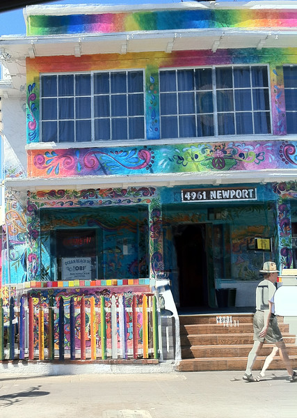 Hostel in San Diego on Ocean Beach, California