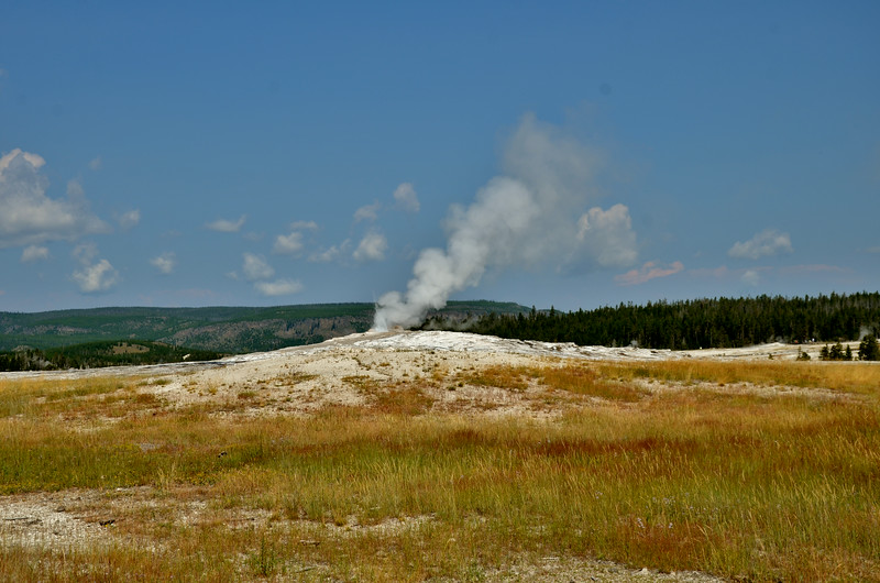 Old Faithful, Yellowstone NP