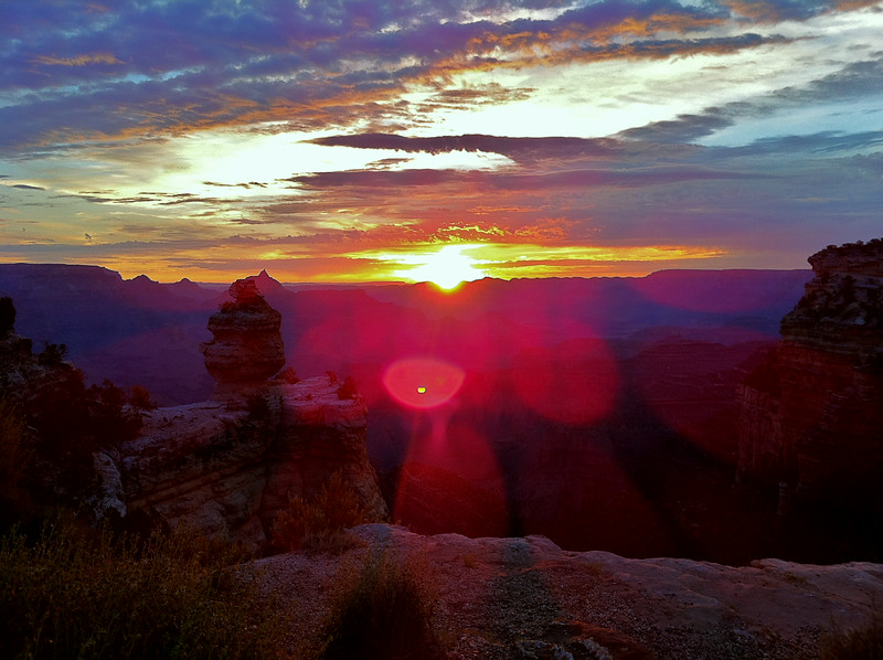 Sunrise at 5:15 Grand Canyon