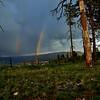 Double rainbow Zion NP, Utah