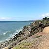 Cliff in San Diego, Pacific Ocean