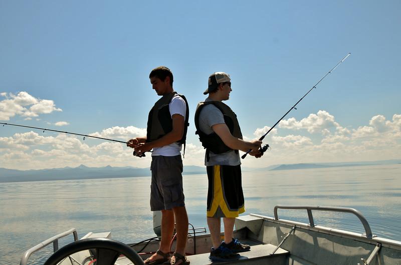 Fishing Lake Yellowstone