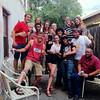 Fourth of July hostel crew