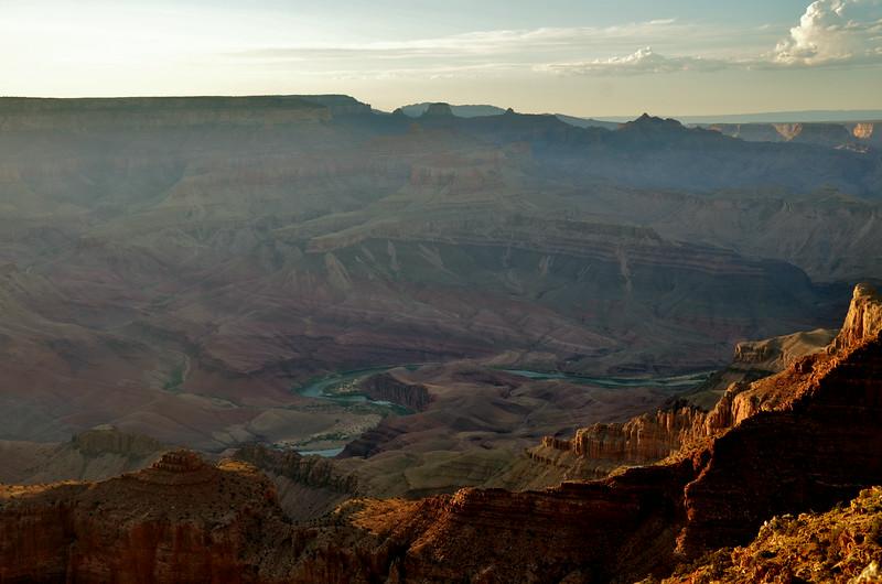 Colorado River meets Grand Canyon
