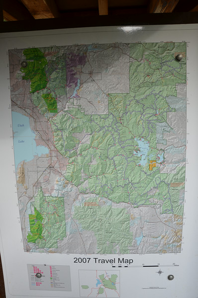 trail system, Uinta NF