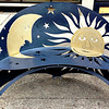 #10 Outside Bench (#5 Moon & Sun bench Monroe Ave.)