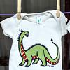#20 Dinosaur on a tee shirt