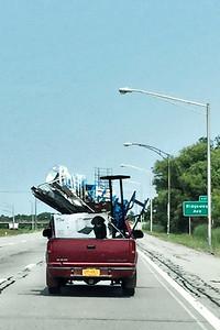 #18 An overloaded truck
