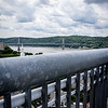 #6 The Mid-Hudson from another metal bridge:  The Hudson Walkway