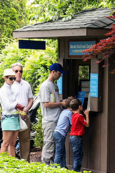 #19 A ticket booth at the Chicago Botanic Gardens