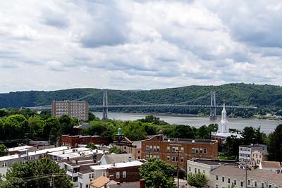# 6 A metal bridge (The Mid-Hudson Bridge in Poughkeepsie, NY)