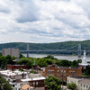 # 6 A metal bridge (The Mid-Hudson Bridge in Poughkeepsie, NY)