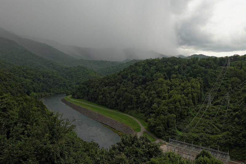 View from Fontana Dam