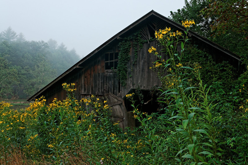 Barn on the South Fork of the New River