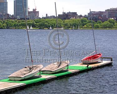 Cambridge,MA Boathouse Dock off Memorial Drive