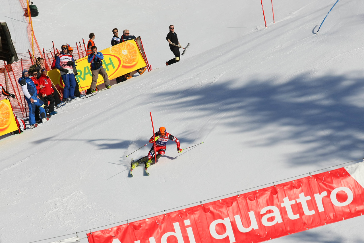 Ivica Kostelic on course