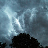 Ominous Clouds - coming storm 7/26/12