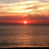 Sunset over Delaware Bay, 2012