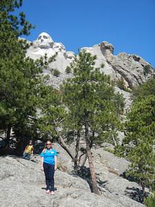 Allison & Hannah at Mt. Rushmore
