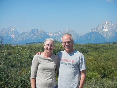A quick stop in Grand Teton National Park on our way to SLC.