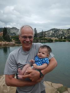 At Cecret Lake