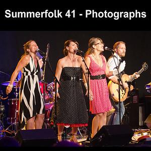 Summerfolk 41 Music Festival - Owen Sound - Photographs