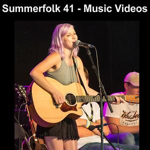 Summerfolk 41 Music Festival - Owen Sound - Videos