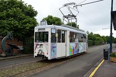 4w Single Deck Electric Tram No 392     11/07/16
