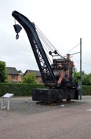 1) Unknown 4w Steam Crane, Marshall Flemming    11/07/16