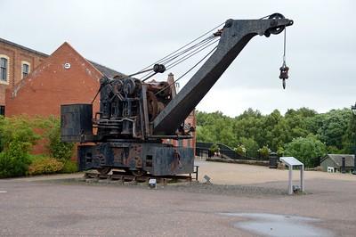 2) Unknown 4w Steam Crane, Marshall Flemming    11/07/16