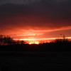 December 20th 2011 from my workplace (Stevens County D.A.C.) early in the morning (8ish) by Green River Road.