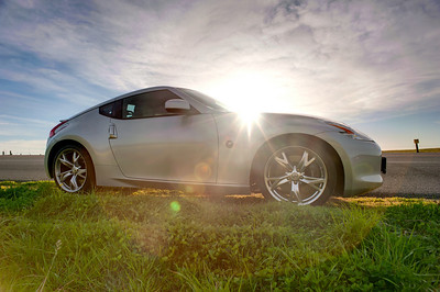 370z HDR  (C) 2011 Brian Neal