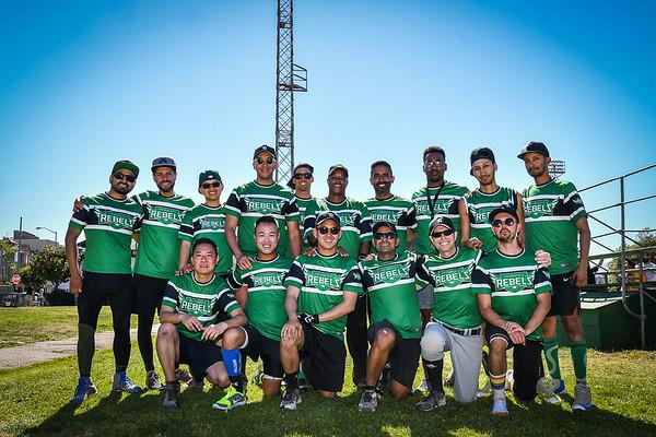 Sunday Softball SFGSL Rebels 2017