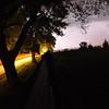 sky illuminated by lighting
