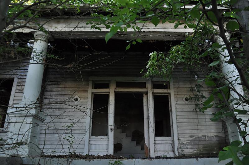 An empty house, Southeast Memphis