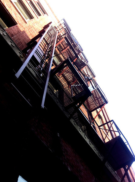 Fire escape. Downtown Memphis