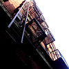 Fire escape. Downtown Memphis