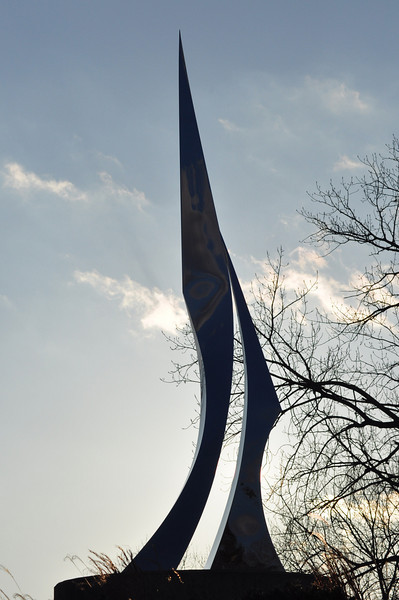 Point - sculpture in Memphis