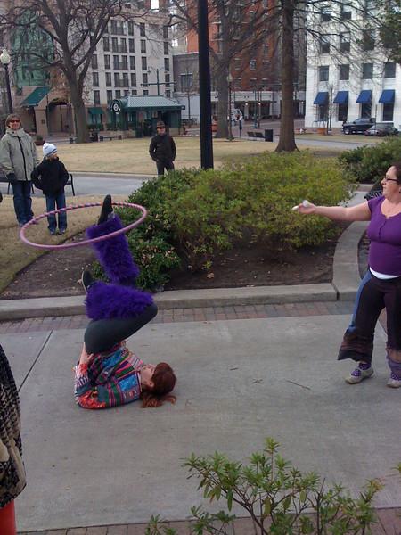 Park performance, Cort Square, Memphis
