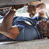 A mechanic at work, Memphis ( for an upcoming article in Memphis Downtowner magazine )