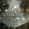 A chandelier for sale at the Peabody Hotel, Memphis