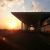 sunrise at Memphis International Airport