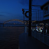 Twilight on the Mississippi two weeks ago