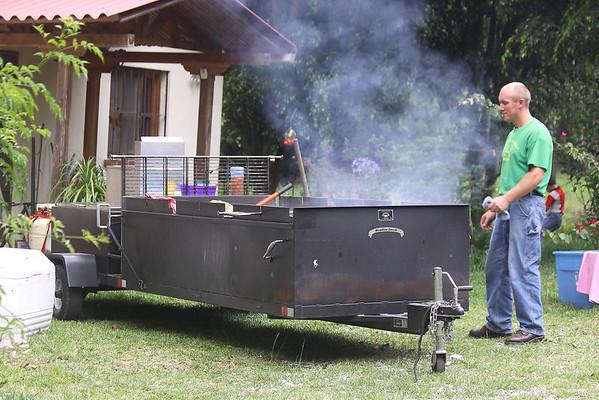 Coals are hot, hot, hot.