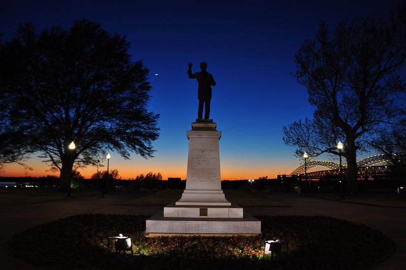 Confederate Park, Memphis ( West )