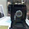 "From the Kodak Museum in Rochester, NY. Joe Rosenthall's camera used for the ""Iwo Jima"" photo"