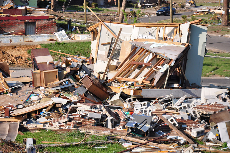 One month after the Pratt City, Alabama tornado
