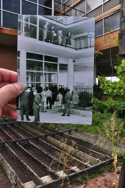 Chisca Hotel - Memphis. 2010 and 1961